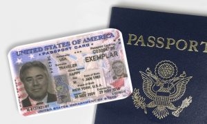 Get a passport card with a passport renewal.
